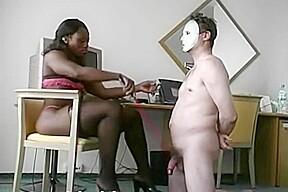 Hot ebony...