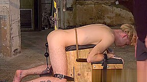 Stretches slaves ass...
