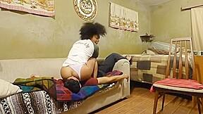 Ebony revenge facesitting...