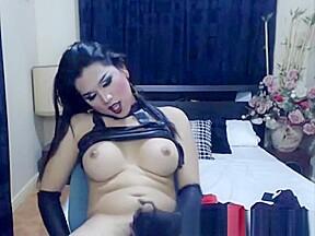 Sexy goth after a dirty masturbation...