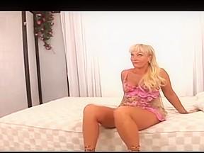 Blonde milf taking...