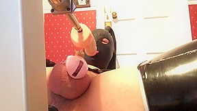 Pvcsissy mouth in chastity...