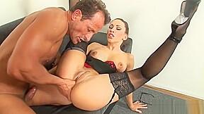 Stunning tight secretary...