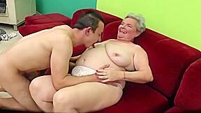 Kinky granny cuckolding...