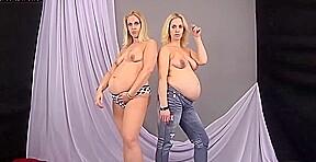 Pregnant twins mimi teagan...