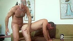 Pounds his boy...