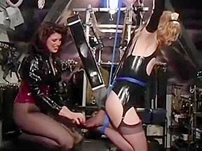 Tickling slave...
