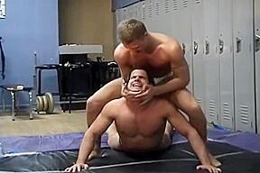 Wrestling nude...