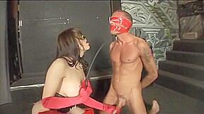 Hot busty latina boy...