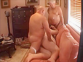 Superchub threesome young chubby boy and his...