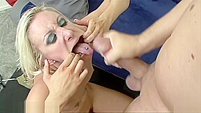 British blonde angel long takes a big dick...
