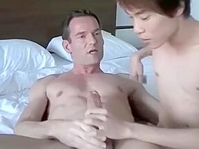 cuminside british daddy gives asian stepson a...