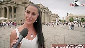 German erocom date street casting with girl next...
