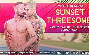 Mickey taylor nick north in sunset threesome sexlikereal...