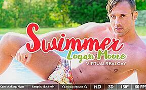 Logan moore in swimmer...