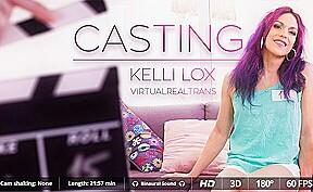 Kelli lox in casting sexlikereal shemale...