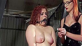 Lesbian mistress cruel torture...