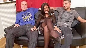 Sarah European Arabic Jewish Three Way Big Boobies + Double Vaginal + Tittyfuck