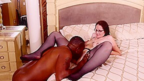 Erotic stockings and garter belt handsome black guy...