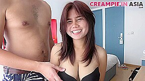Naturally cutie is ready for her creampie...