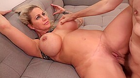 Big titted while her husband was out of...