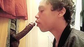 Hungry black boy porn gloryhole...