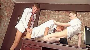 Boys office sex...