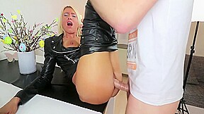 And dina pearl 3 hole foreign the anal...
