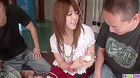 Miyu Aoi Moans And Trembles While The Dick Humps Her Ass With Haruka Koide