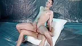 Why lads enjoy oiled wrestle...
