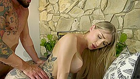 Seductive young trans flirts with roommate...