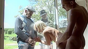Gorgeous blond gets copulated...