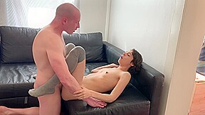 Real sex video couple fucks loudly part1...