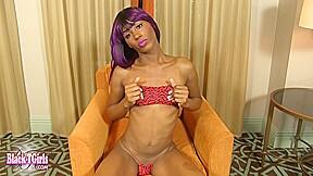 Horny masturbates at her home...