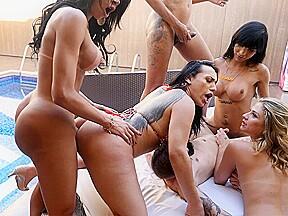 Curvy with yasmin dornelles an orgy...