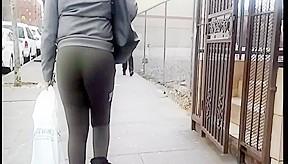 Green leggings slo mo...