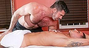 Billy santoro massage house 4 scene 01 iconmale...