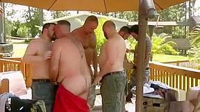 Mj steamy bear sex party...
