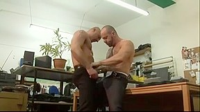 Kinky fuck and play with their veiny peckers...