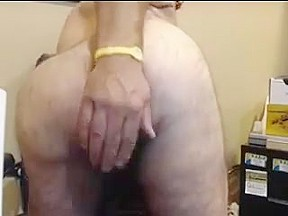 Daddy on webcam...
