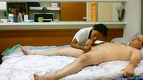 Oral creampie to anorexic cinese junior...