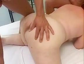 Bbw granny takes anal cum...