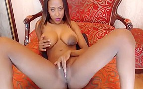Gorgeous ebony and tits...