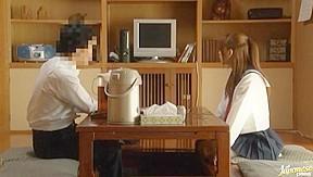 Captures chika eiro having sex in her schoolgirl...