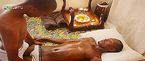 80gays video african oil massage...