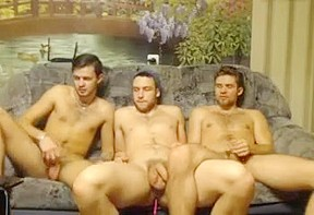 3 horny russian friends go gay 1st time...