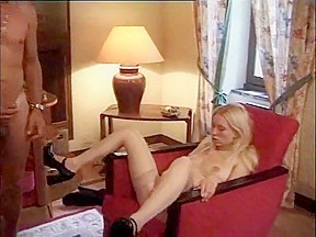 Blond french anal disaster...
