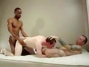 Crazy homemade gay video with interracial bareback scenes...