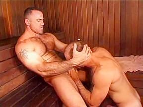 Steamed hot muscular daddies sex...