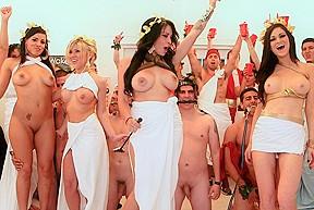 Porn Star Orgies